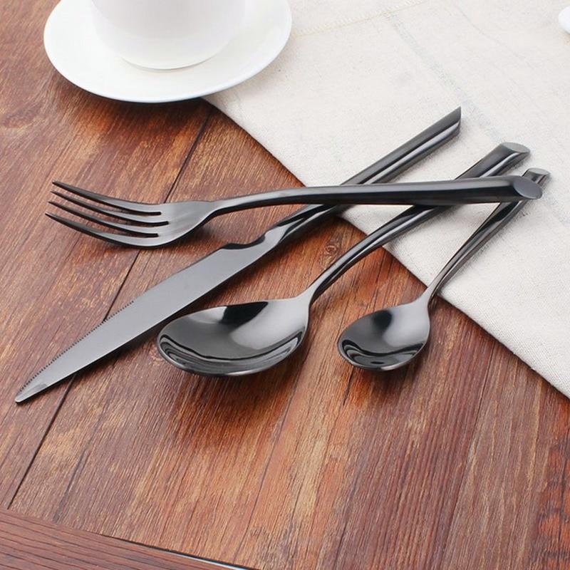KTL 24 copë / Set Set Darkerware BlackBerry 304 Stainless Steel - Kuzhinë, ngrënie dhe bar - Foto 5