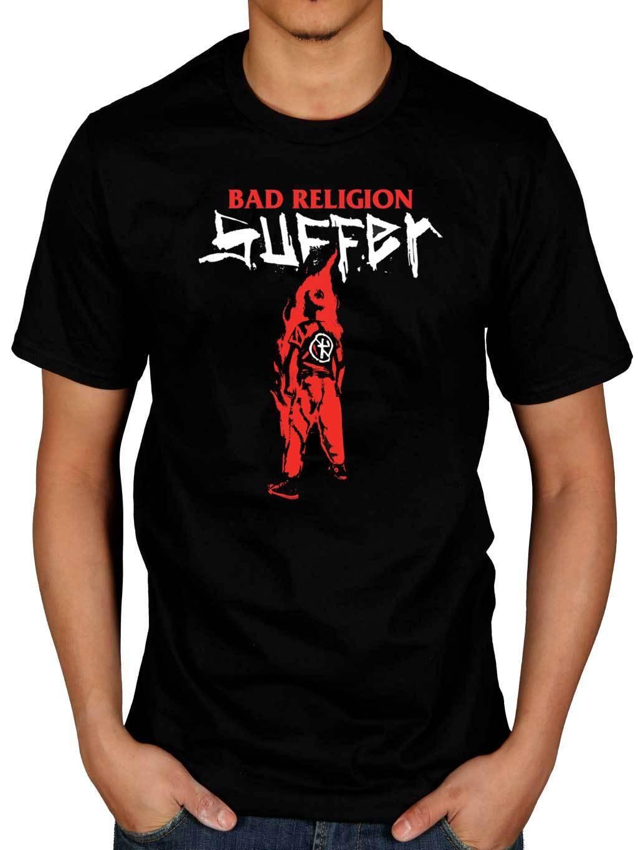 Shirt design generator - Bad Religion Suffer T Shirt No Control Generator Cross Buster Printed T Shirt Fashion Dead Boy
