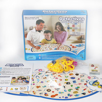 Detectives Education Board Game Family/Party/Friends Funny Learning Game Best Gift for Children