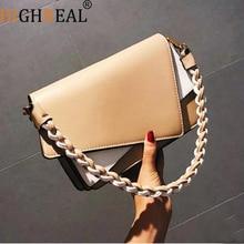2019 Fashion Luxury Handbags Women Bags Designer Vintage Chain Small Crossbody Bags for Women Messenger weaving Shoulder Bag