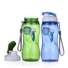 Mi Botella de Agua Botellas De Los Deportes de Agua De Plástico Portable Bicicleta de La Bici Botella de agua Potable Con Cuerda Vaso Taza de Té