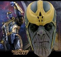 2018 Avengers: Infinity Guerra Maschera Thanos Maschera Cosplay Testa Completa Lattice Super Hero Costume Halloween Party Prop