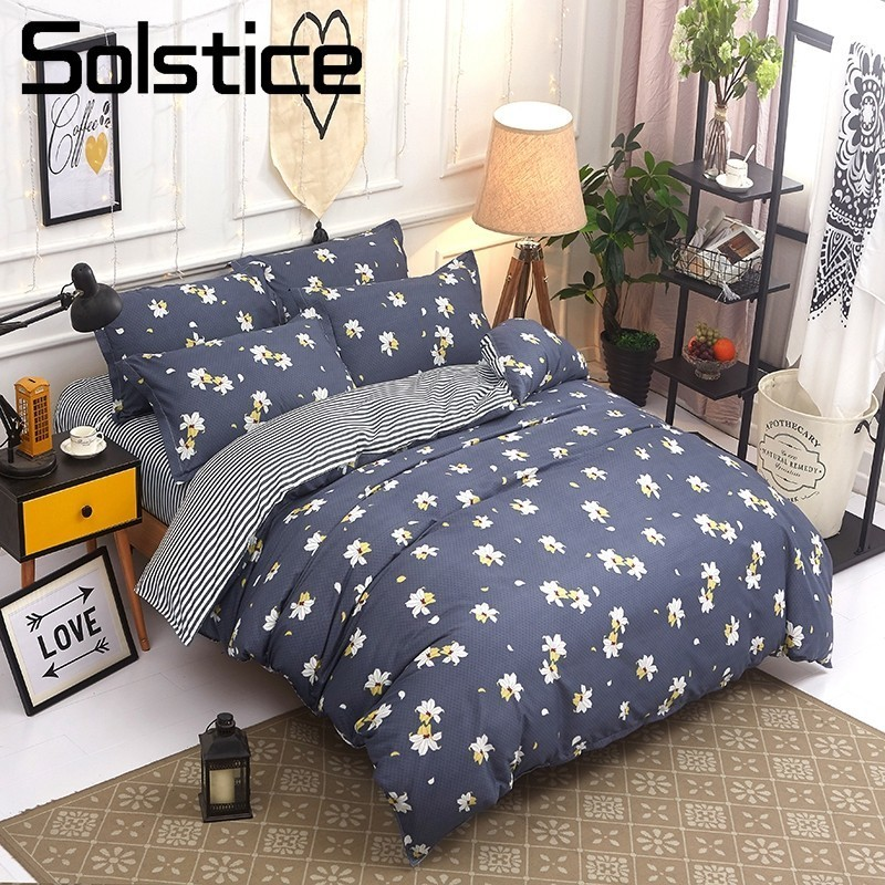 Solstice Home Textile Lily Floral Bedding Set Girl Kid Teenagers Bedlinen King Queen Twin Duvet Quilt Cover Pillowcase Bed SheetSolstice Home Textile Lily Floral Bedding Set Girl Kid Teenagers Bedlinen King Queen Twin Duvet Quilt Cover Pillowcase Bed Sheet