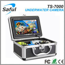 Free shipping Waterproof fish model design durable material Underwater Fishing Camera 30M Cable High Resolution Fish Finder