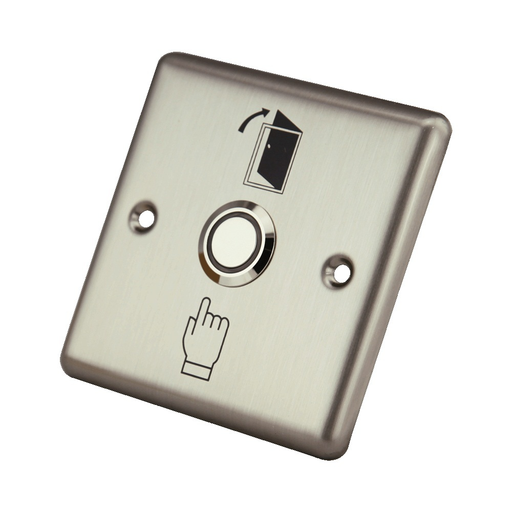 Free Shipping Stainless NO NC COM Suitable For Hollow Doors Access Control System Press  ...