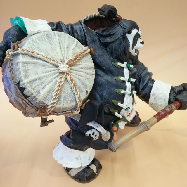 20CM Chen Stormstout Action Figure 1/8 Anime Game World of War WOW The Pandaren anime figurines model toys for children Gift 4