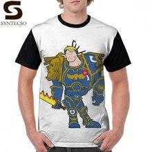 цены на Ultramarines T Shirt Cartoon Boss Guy T-Shirt 100 Polyester Awesome Graphic Tee Shirt Streetwear Big Short-Sleeve Graphic Tshirt в интернет-магазинах