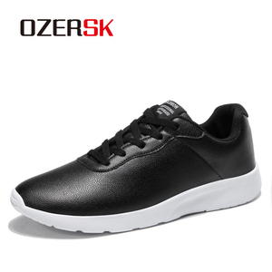 Image 2 - OZERSK Brand 2021 Autumn Big Size 35 47 Pu Leather Men Shoes Casual Classic Sneakers For Male Unisex Comfortable Footwear