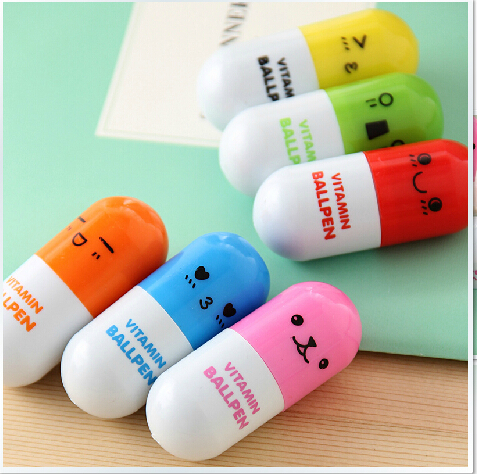 6pcs Pill Ballpoint Pen Vitamin Novelty Ballpen Ballpoint Pen Stationery  Wedding Gifts for Guests Return Gifts For Kids Birthday-in Party Favors  from ...