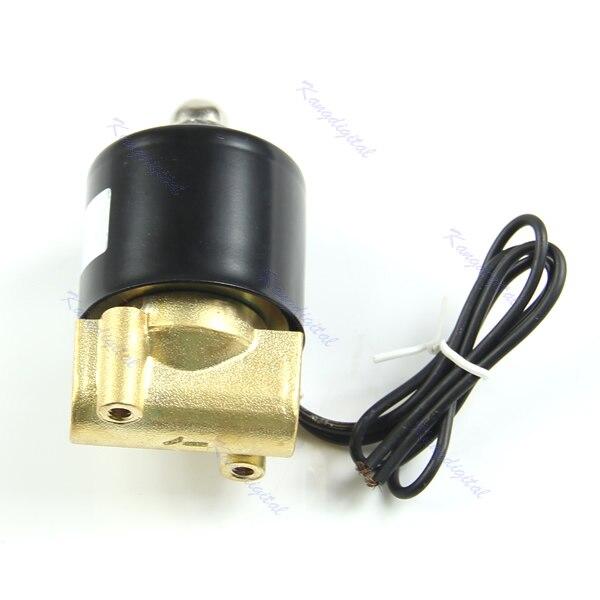 Ventil Dc 12 V Messing 1/4 elektrische Magnetventil Wasser Luft Brennstoffe Gas 2way Normale Geschlossen My11_10 Eine VollstäNdige Palette Von Spezifikationen Sanitär