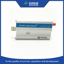 Industrial Wavecom single port gsm modem USB Q2303 M1206B M2M single modem цена в Москве и Питере