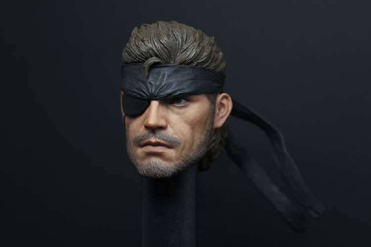 1/6 scale figure doll head shape for 12 action figure doll accessories METAL GEAR SNAKE Head carved not include body,clothes 1 6 scale mike head carved jailbreak mike scofield wentworth miller head carving 12 figure accessories