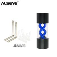 ALSEYE Water Cooling Tank 155mm G1/4 T virus Water Tank High Quality DIY Water Cooler Accessories for Gaming PC