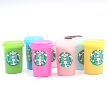 LF 20Pcs Mixed Cups Resin Decoration Craft Flatback Cabochon Embellishments For Scrapbooking Kawaii Cute Diy Accessories