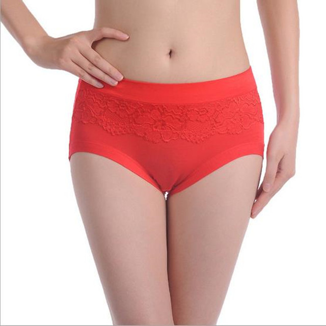 Women Lace Ladies Underwear Cotton Panties