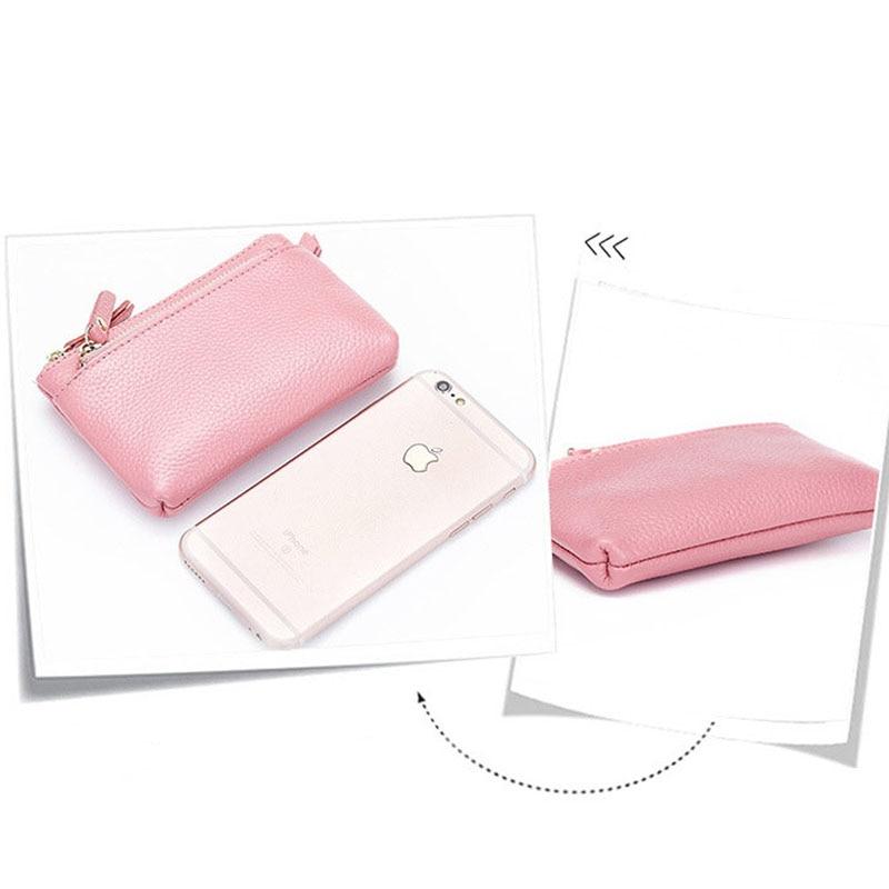 hmily couro genuíno titular do Function : Women Wallet/women Purse/women Coin Purse /women Mini Bag