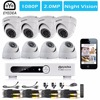 Eyedea 8 CH Email Alarm Phone View Video HDMI DVR 2 0MP 5500TVL White Dome Outdoor