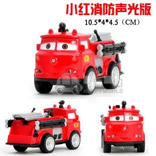 4 fire truck acoustooptical WARRIOR alloy car model