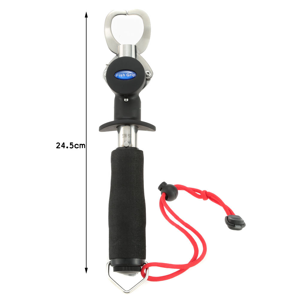 Grabber fishing gripper with weight scale for Fish weight scale