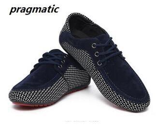 Primavera Otoño hombres de la moda Británica Zapatos Casuales zapatos Mocasines