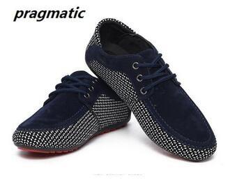 Spring Autumn British fashion Men's Casual Shoes moccasin shoe men Suede shoes large size flat decoration breathable mens Loafer