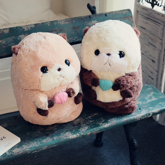 Candice Guo! Super Q felpa juguete dibujos animados par nutria de ...