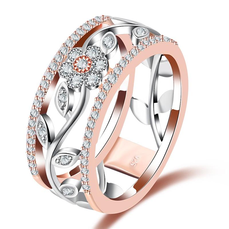 a1eee0e674ff Piedra principal  cristal AAA CZ Forma  forma de la flor Representa  moda