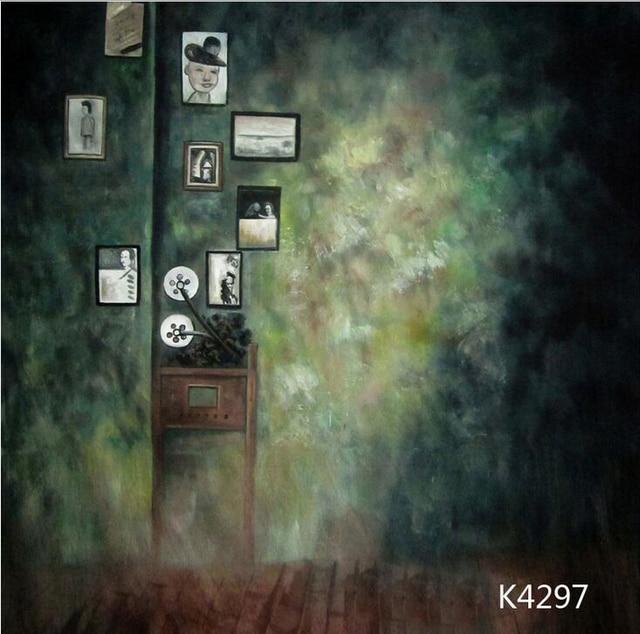 professional 1020ft hand painted muslin backdropphoto