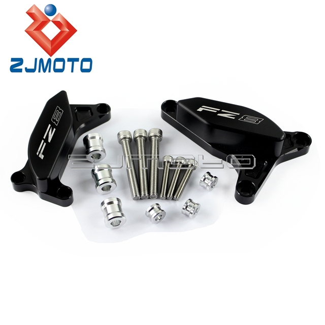 New Black Motorcycle Engine Stator Cover Frame Slider Protector For ...