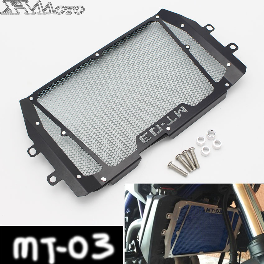MT 03 MT03 2015 2016 2017 2018 Radiator Grille Grill Guard Cover Protector For Yamaha MT