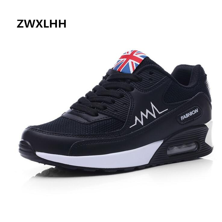 2018 New Fashion Flat Women Trainers Breathable Shoes Woman Leather Casual Tenis Feminino Sapato Women Flats Zapatillas Mujer de la chance 2018 new fashion women casual shoes adults colorful women s flats shoes woman breathable harajuku flat plus size