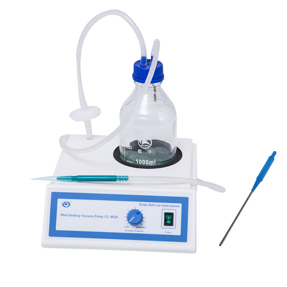 GL-802 Mini bureau pompe à vide Mini pompe à vide laboratoire vide Pmp GL-802A GL-802B