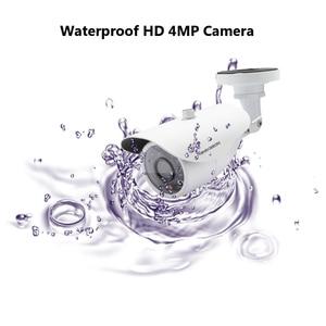 Image 3 - NINIVISION Hot HD 4MP IMX322 AHD 4MP System CCTV AHD Camera Outdoor Waterproof Small Metal Bullet IR 4MP Security Surveillance