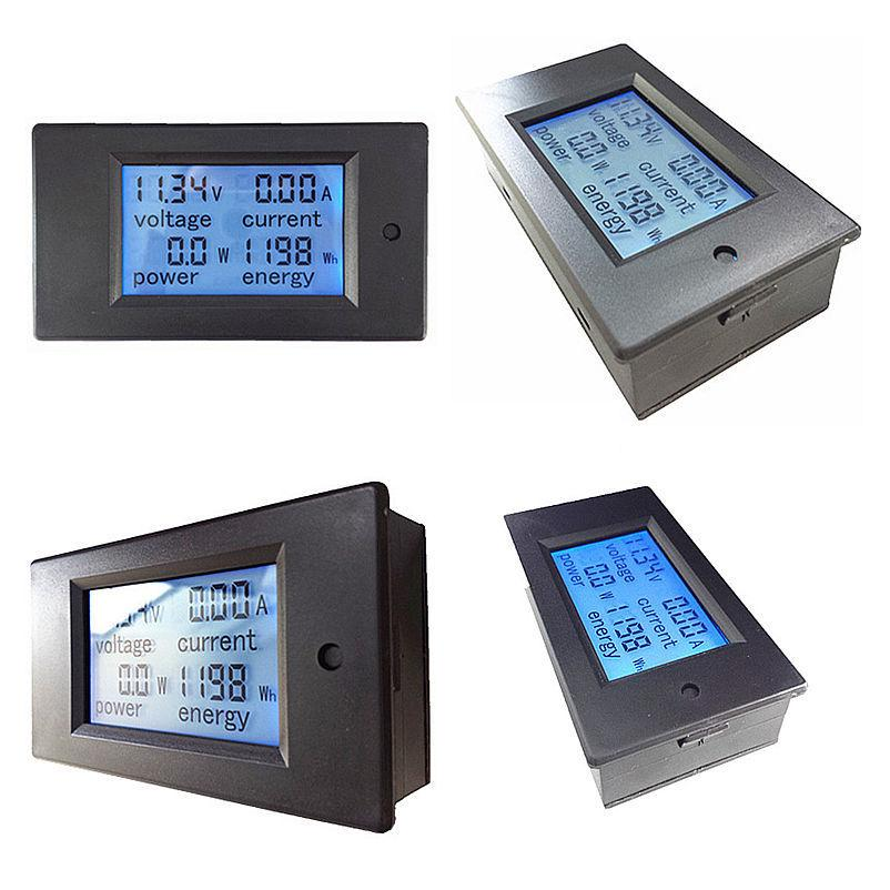 Free shipping PZEM 031 Digital DC 6 5 100V 20A 4IN1 voltage current power energy Voltmeter