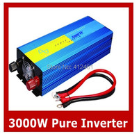 Солнечной энергии Чистая синусоида Инвертор 3000 Вт специально дизайн, чтобы мощность двигателя, кондиционер, холодильник и т. д. индуктивных