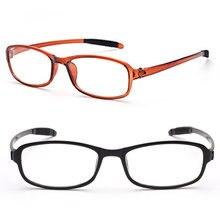 1PC New TR90 Women Men Flexible Reading Glasses Readers Strength Presbyopic Ultralight Eyeglasses elders