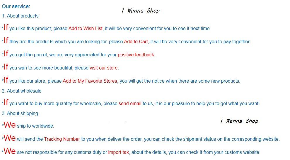 I Wanna Shop service 1
