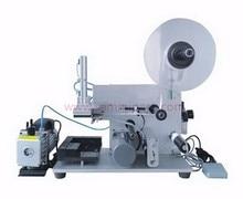 Полуавтоматическая машина для прикрепления этикеток для конверт/пластика квадратной бутылки этикеточная машина