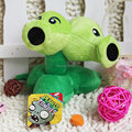 5.5inch 14cm Cute Plant Vs Zombies Series Plant Double Head Peashooter Plush Toy Doll,1pcs/pack