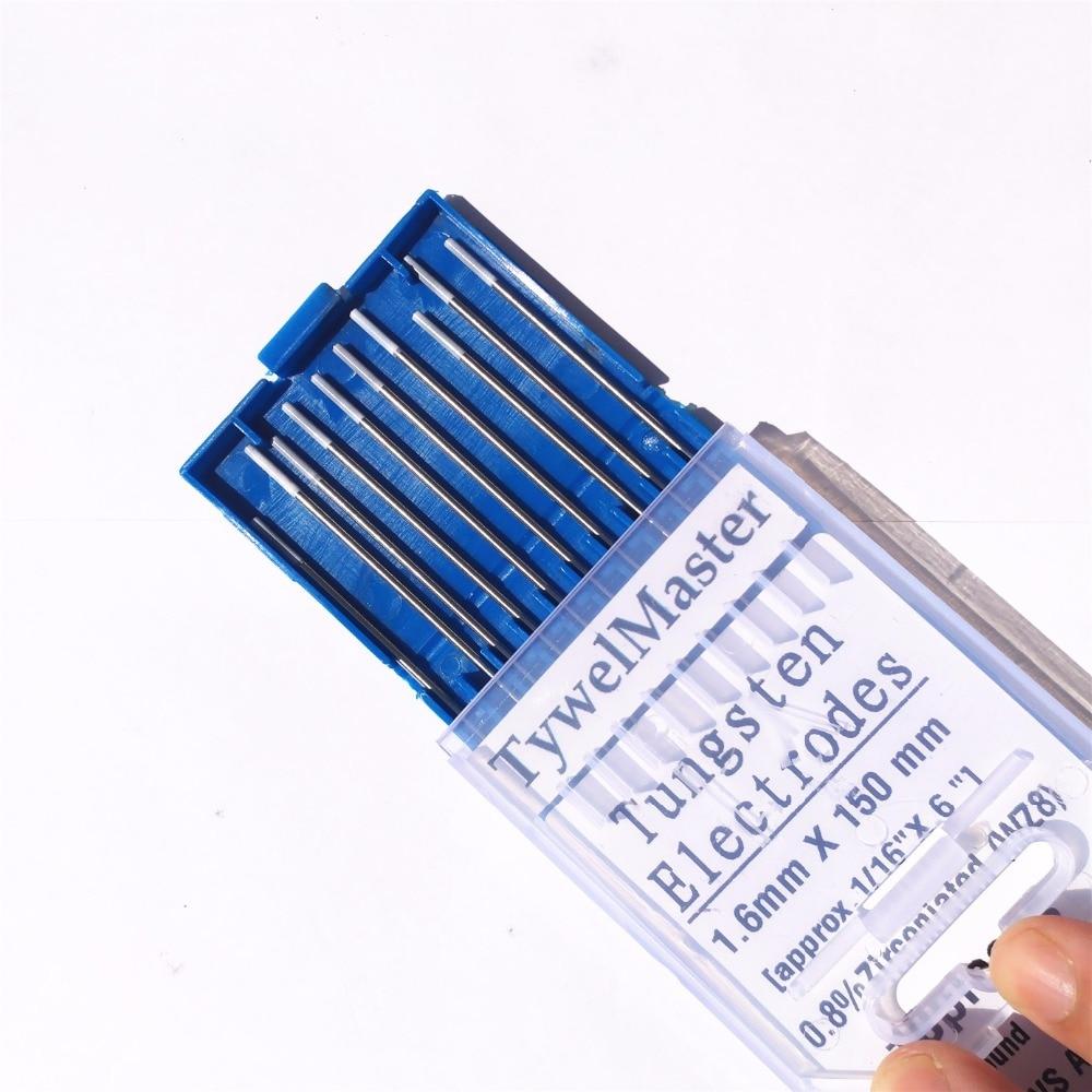 WZ8 вольфрамовый электрод Профессиональный Tig стержень 1,0 1,6 2,0 2,4 3,0 3,2 мм для опции 0.8% циркониевый для Tig сварочный аппарат