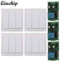 Wall Panel Wireless Switch 433MHz Receiver 433MHz Transmitter 3 CH Transmitter Module 1 CH Receiver Module