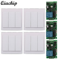 Wall Panel Wireless Switch 433MHz Receiver 433MHz Transmitter 3 CH Transmitter Module 1 CH Receiver Module