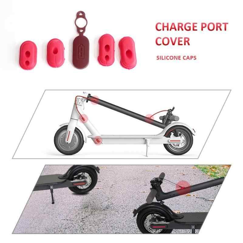 4 pçs m365 xiaomi scooter de borracha porta carga capa de borracha plugue de borracha para m365 pássaro scooter elétrico peças xiaomi m365 peças