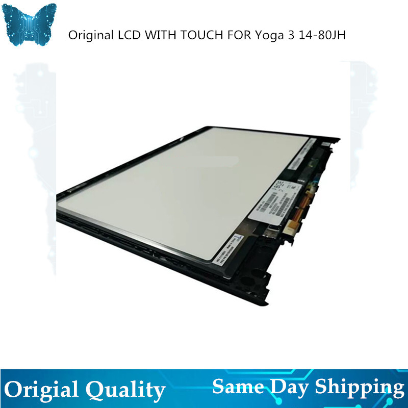 Original New LCD with Touch Assembly For lenovo Pro 3 14-80jh  Touch Screen Digitizer Assembly with Frame LCD Plate nv140fhm-A10Original New LCD with Touch Assembly For lenovo Pro 3 14-80jh  Touch Screen Digitizer Assembly with Frame LCD Plate nv140fhm-A10