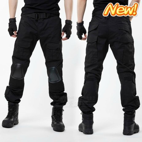 Aliexpress.com : Buy Men Army ACU Combat Pants Black Multi Pockets ...