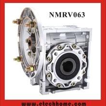 NMRV063 червячный редуктор 14 мм 19 мм 24 мм Входной вал 5:1-100: 1 Передаточное отношение червячная коробка передач 90 градусов Редуктор Скорости