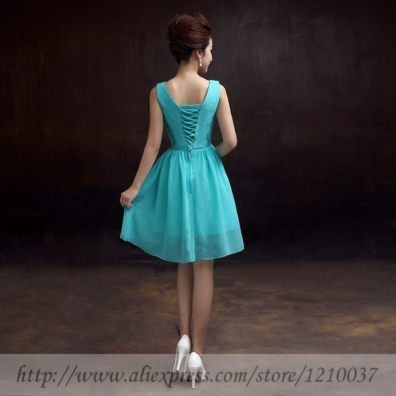 f6635913e169e Bridesmaid Dress Short Purple Turquoise Coral Teal Navy Blue Mint Green  Customized Cheap summer gowns vestido de festa Dresses -in Bridesmaid  Dresses from ...