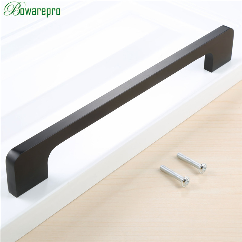 bowarepro 192MM Furniture Handle Wardrobe Door Pull Dresser Drawer Handle Kitchen Cupboard Handle Cabinet Knobs and Handles HOT