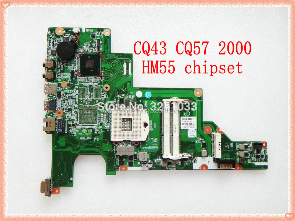 646669-001 For Hp 430 631 CQ43 Notebook PC Laptop Motherboard For HP 630 430 Notebook PC HM55 DDR3