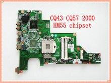 646669 001 עבור hp 430 631 CQ43 נייד מחשב נייד האם עבור hp 630 430 נייד HM55 DDR3